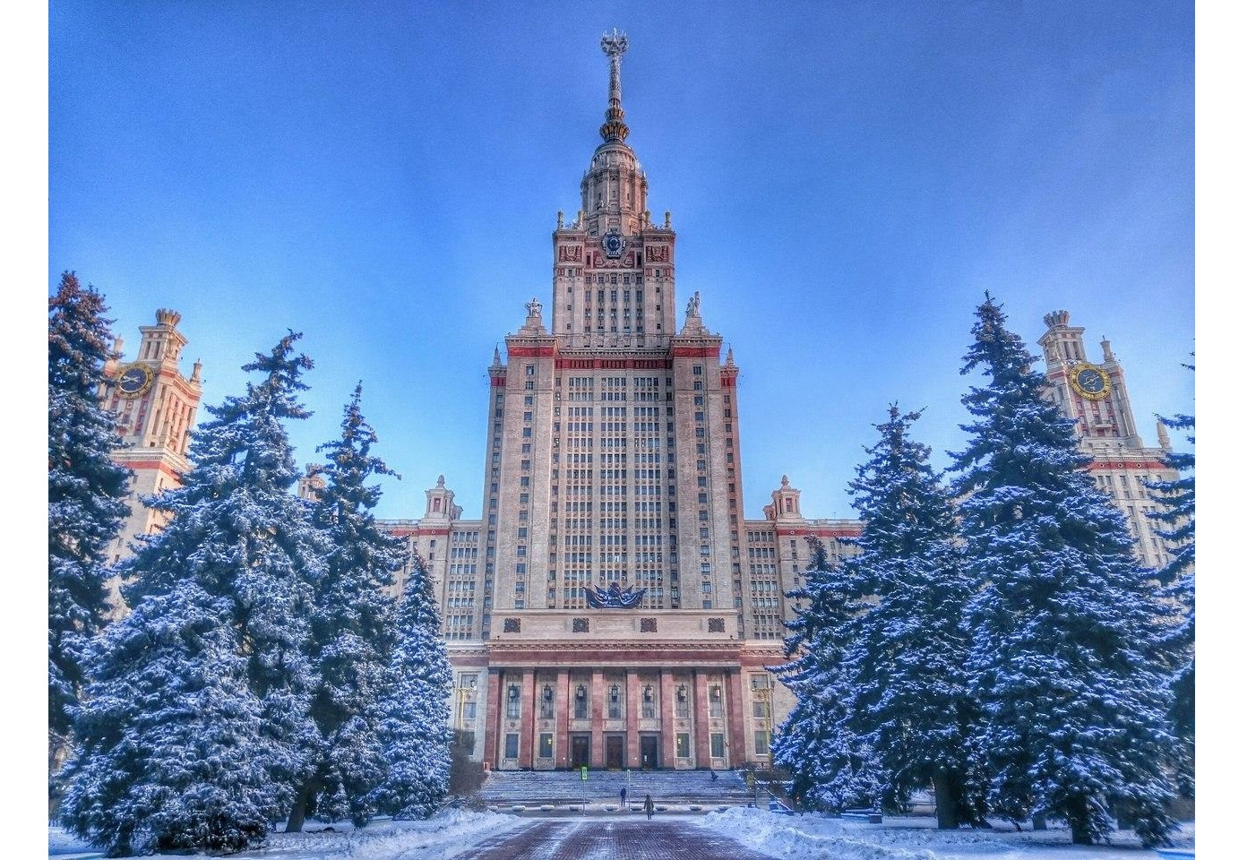 Московский университет картинках