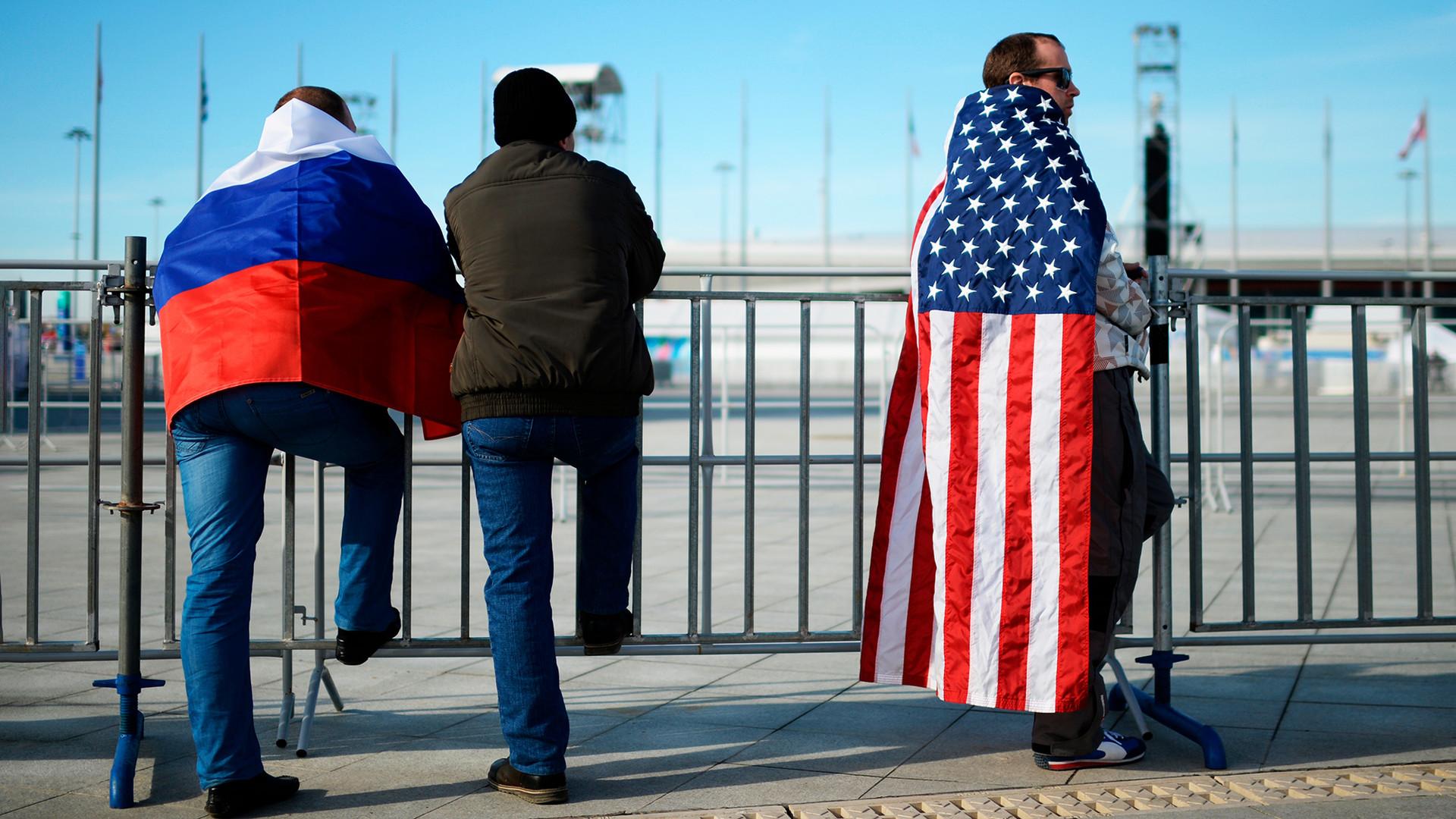 американские картинки про русских половину теста