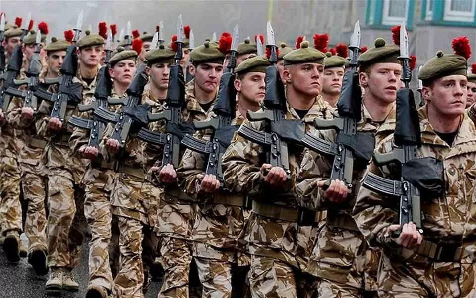 Армия англия в картинках