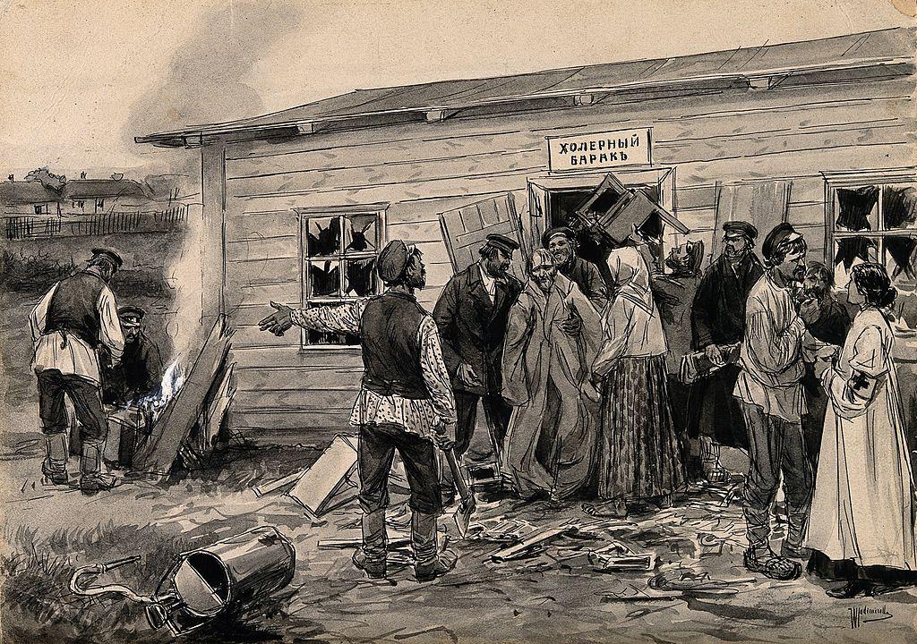 Эпидемия холеры