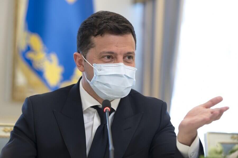 Официальное интернет-представительство Владимира Зеленского