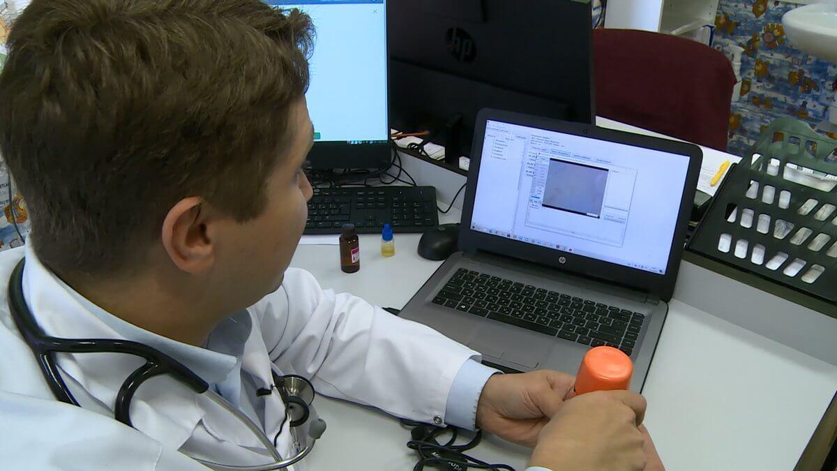Прибор для диагностики астмы