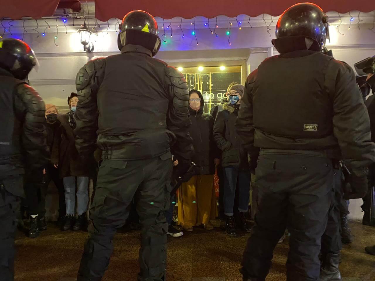 полиция в Санкт-Петербурге