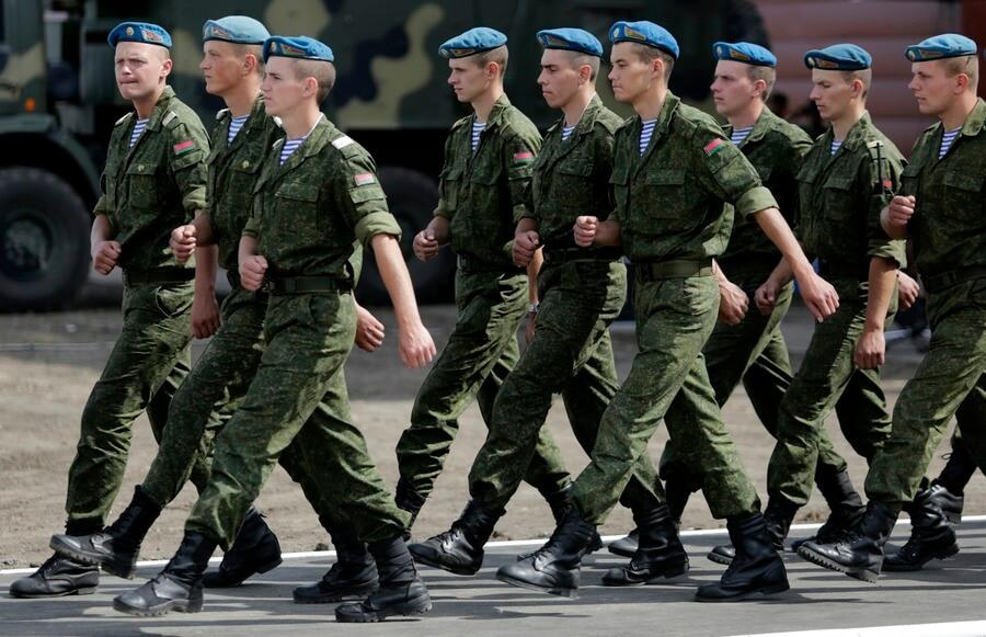 Военные Беларуси