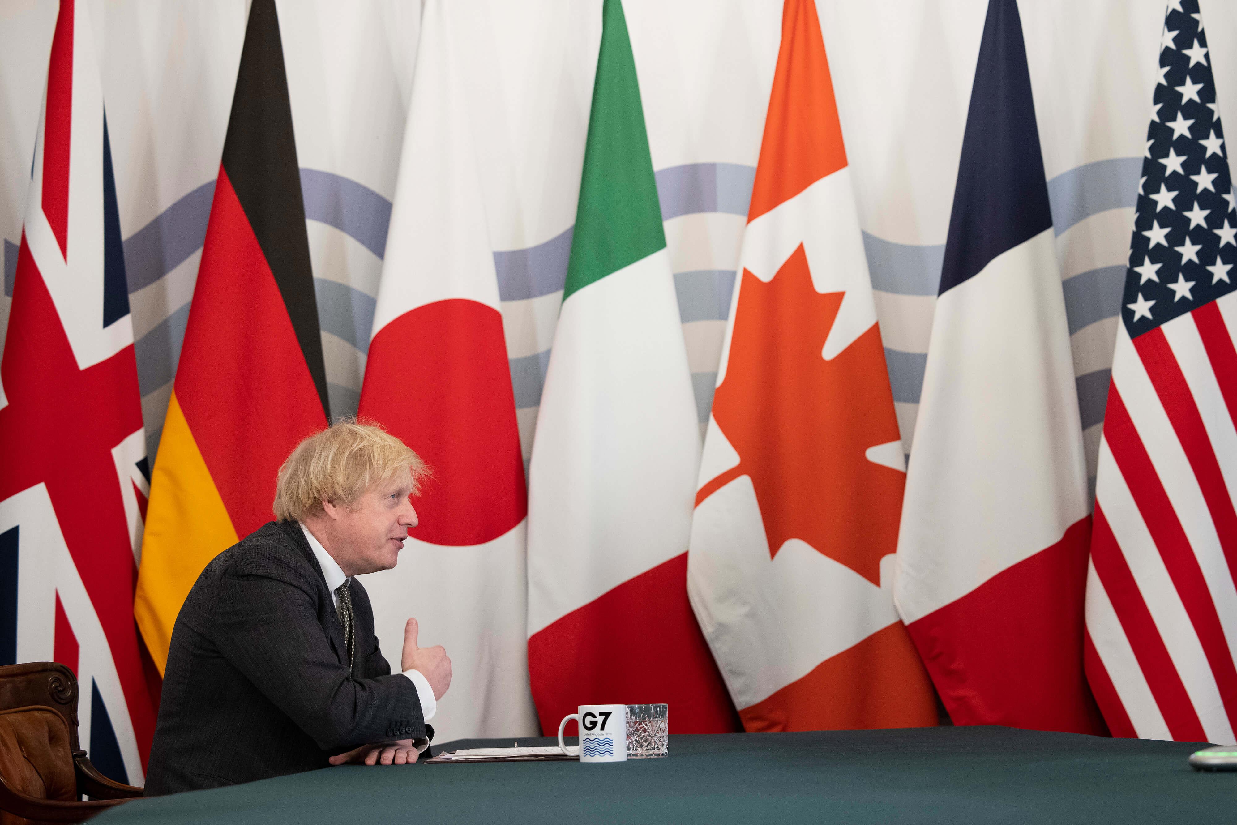 Simon Dawson/No 10 Downing Stree/Global Look Press
