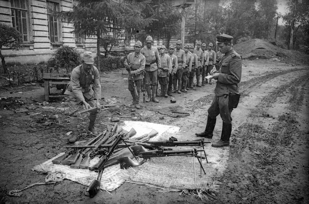 Япония. 1945 год
