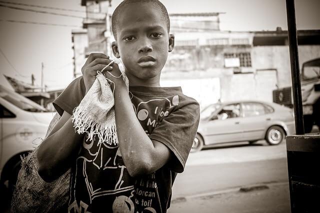 Африканский ребенок