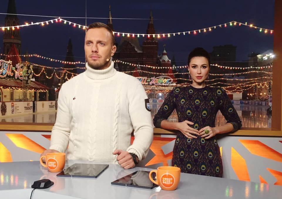 Ольга Ушакова и Тимур Соловьев