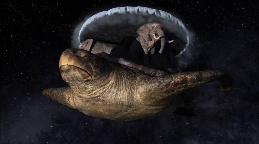 Слоны на черепахе