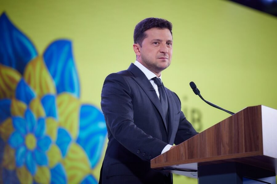 Официальное интернет-представительство Владимир Зеленский