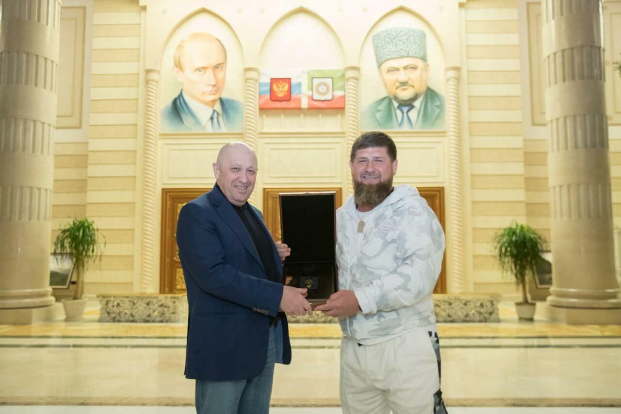Евгений Пригожин и Рамзан Кадыров