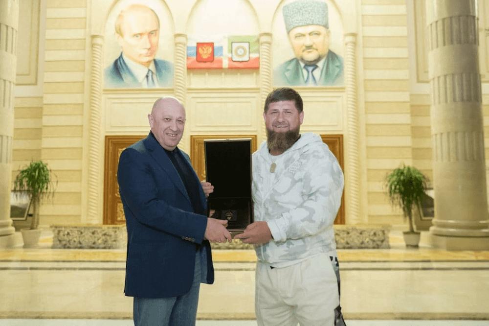 Фото : @Kadyrov_95/Telegram