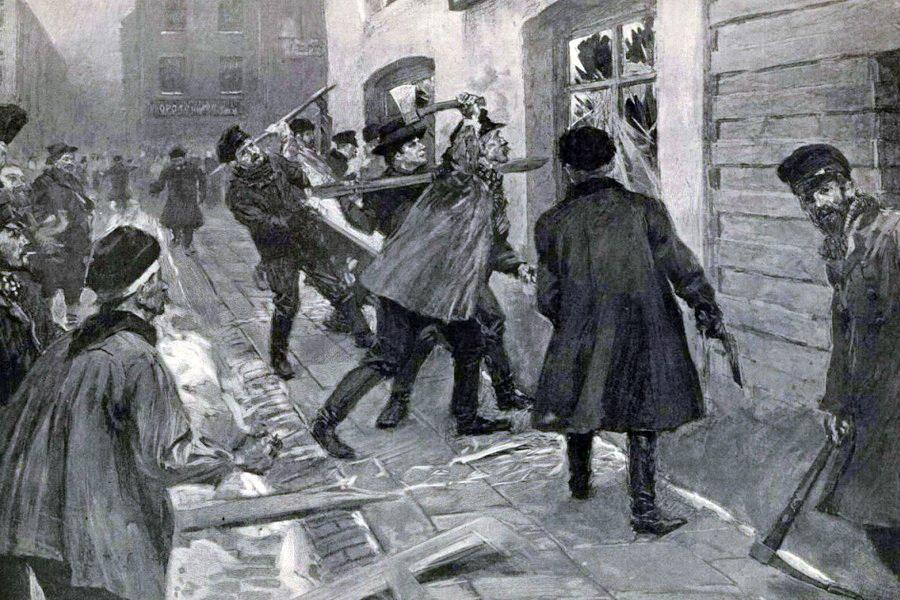 Стачка в Иваново. 1905 год
