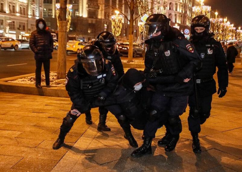 Аресты в Москве