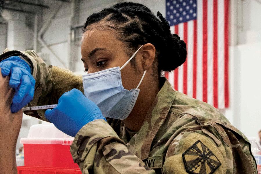 Staff Sgt. Tegan Kucera/Keystone Press Agency/ Global Look press