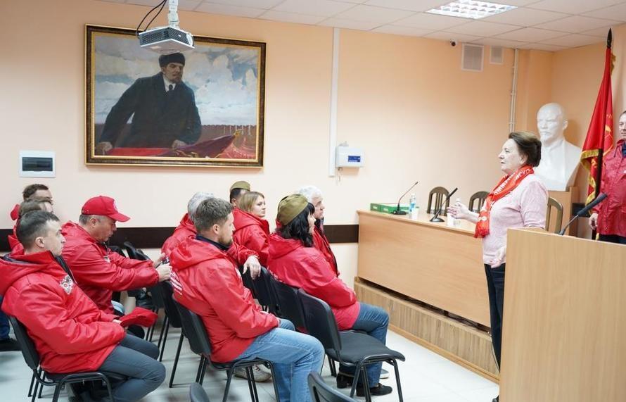 Акция КПРФ ко Дню Победы