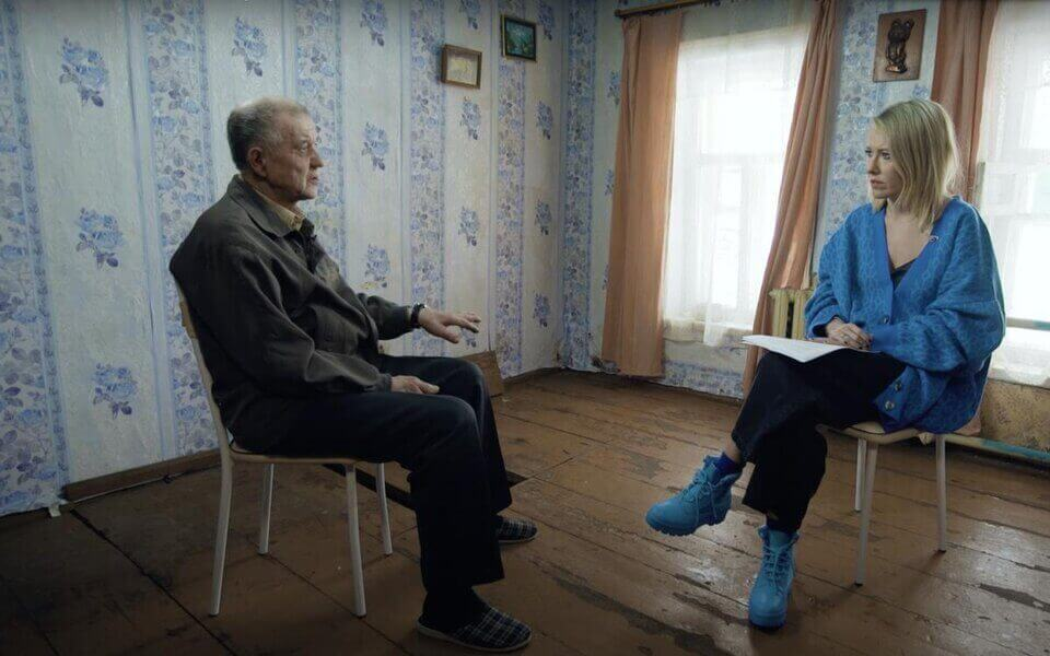 Фото: скриншот интервью Ксении Собчак с Виктором Моховым/YouTube