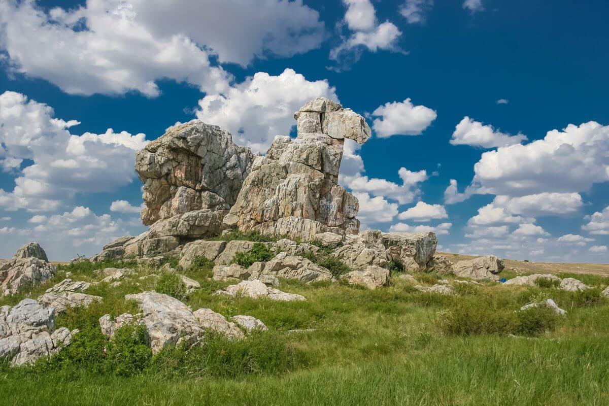 Гора Верблюд в Оренбургской области