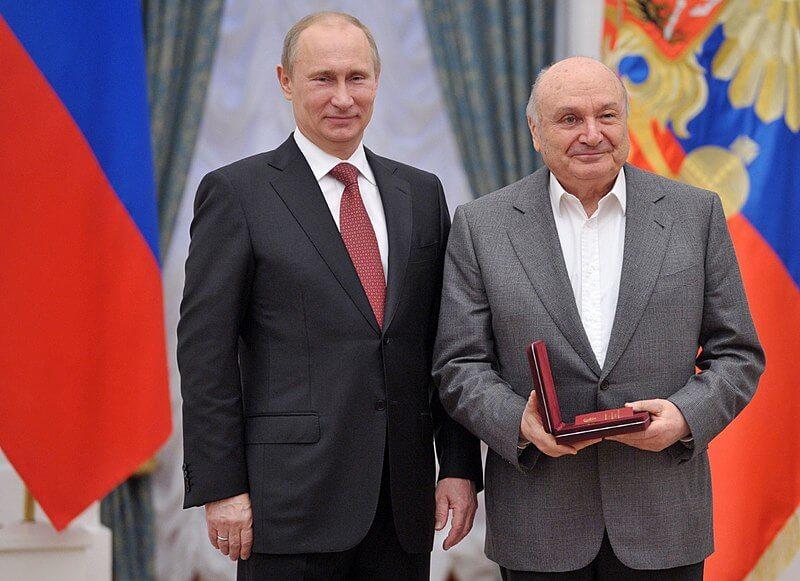 Михаил Жванецкий с Владимирмо Путиным