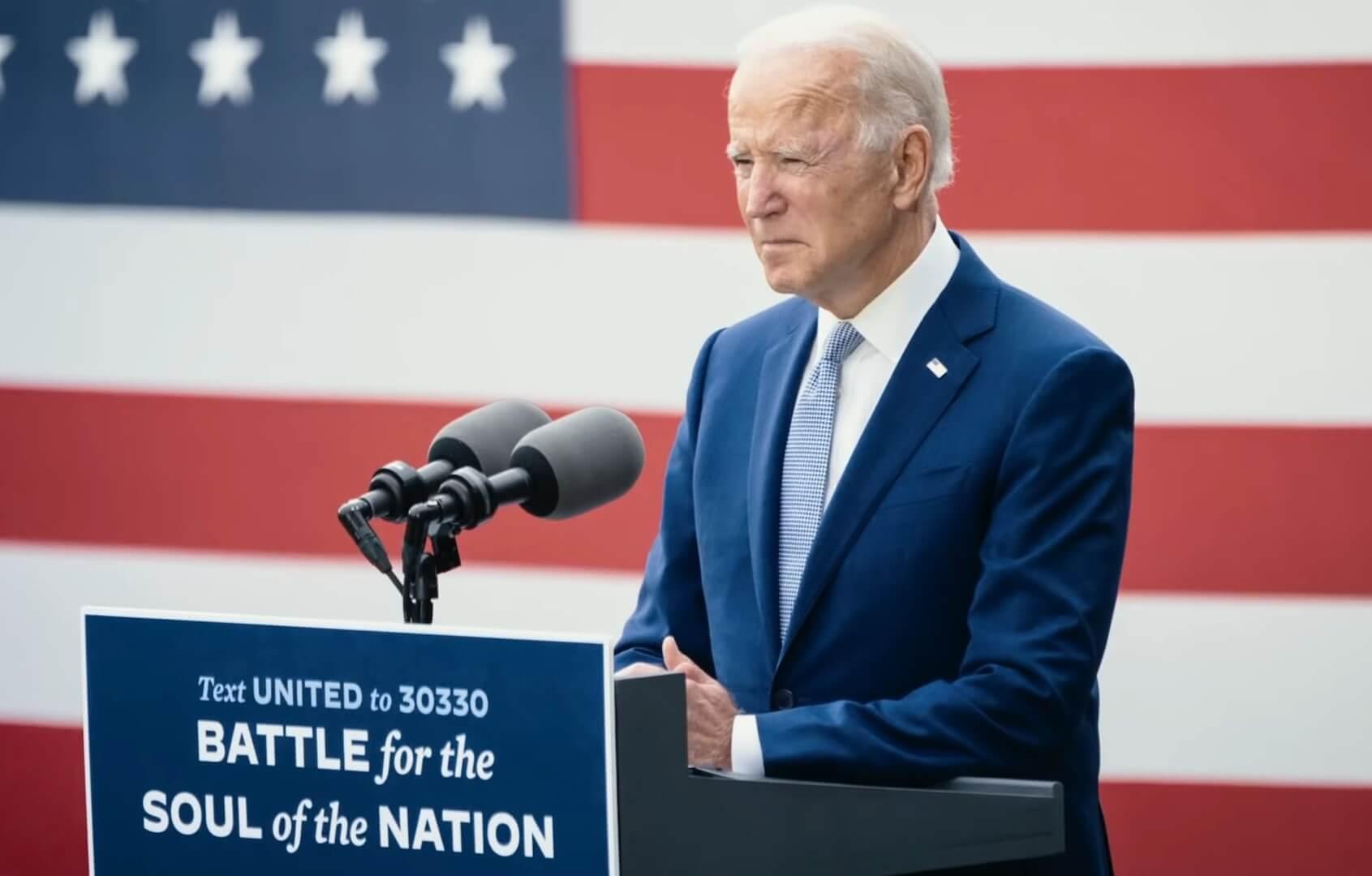 Youtube /  Joe Biden