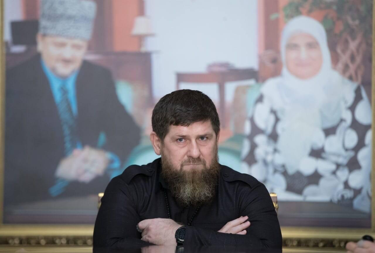 Страница Рамзана Кадырова в социальной сети ВКонтакте