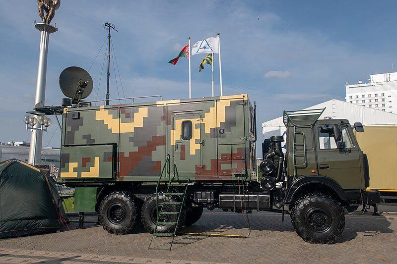Выставка вооружения в Беларуси