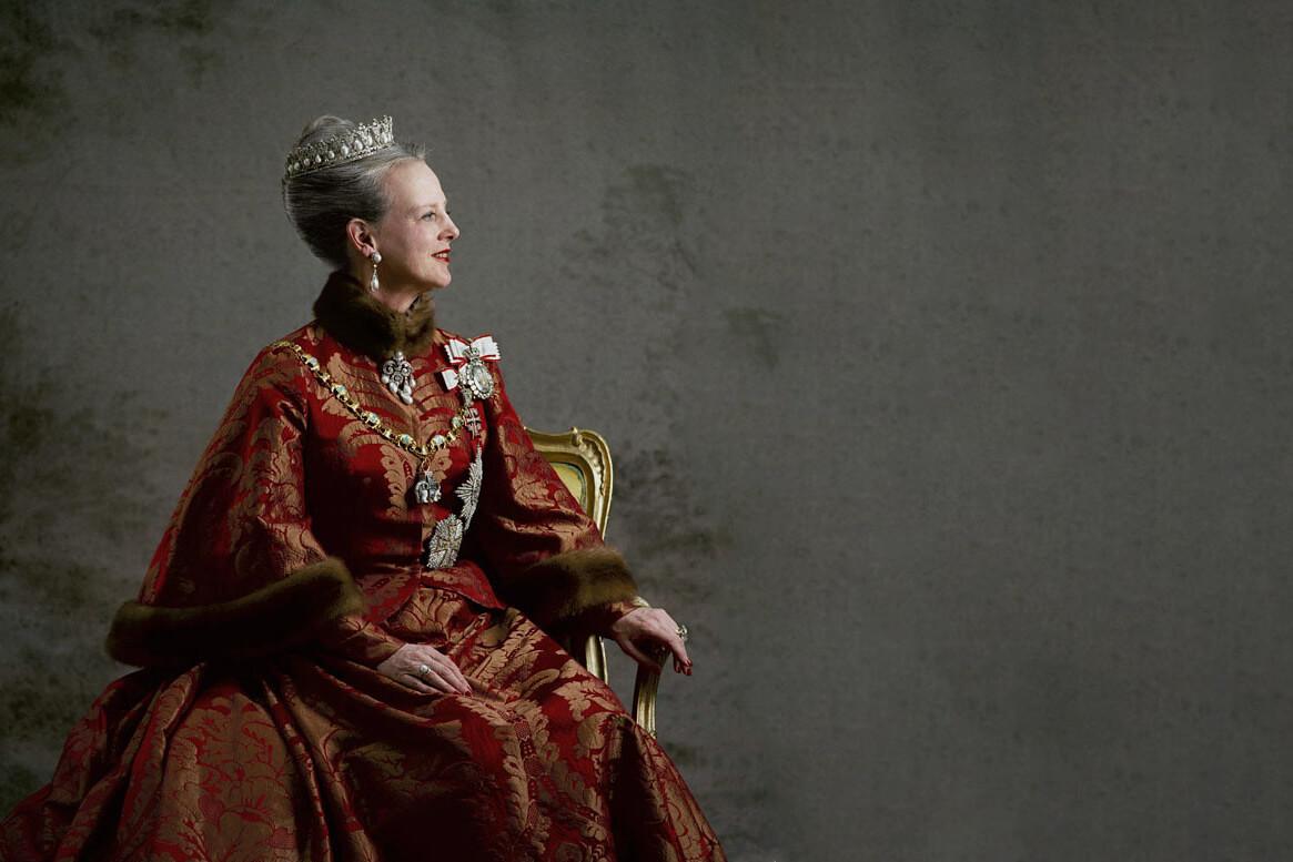 Датская королева Маргрет II