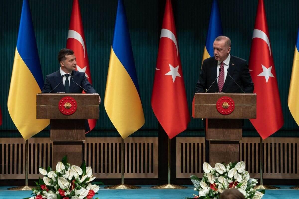 Эрдоган и Зеленский. Фото:
