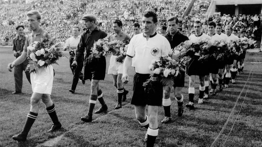 СССР - Германия. 1955 год