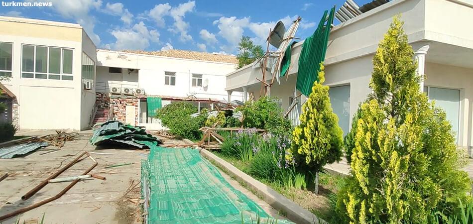 Ураган в Туркменистане