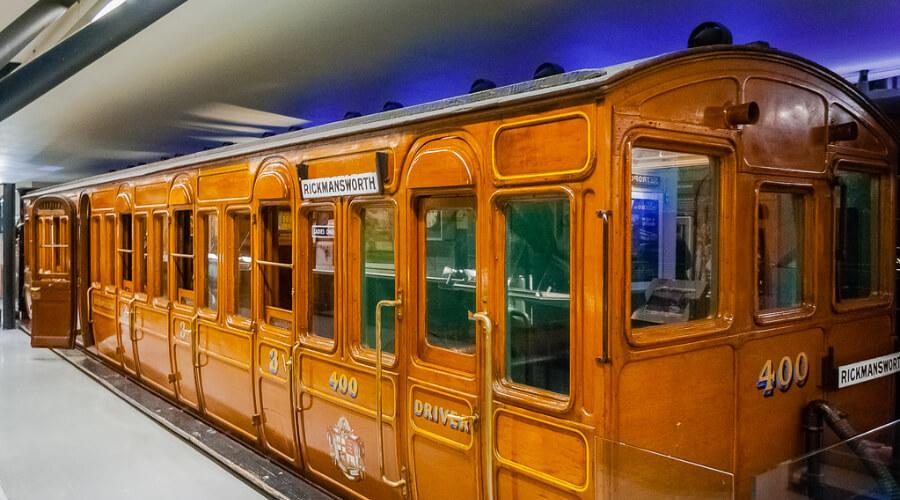 Лондонское метро 1863 года