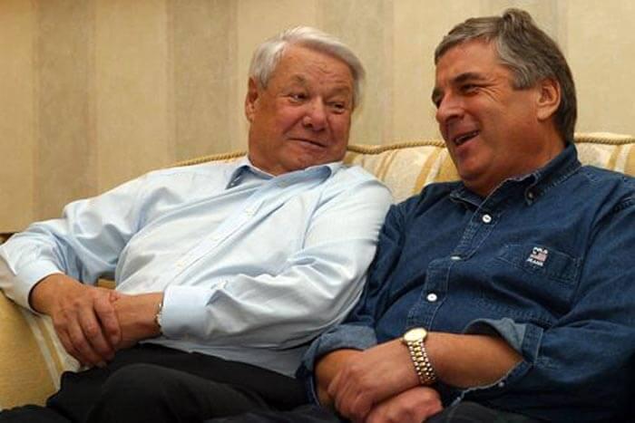 Ельцин и Бородин