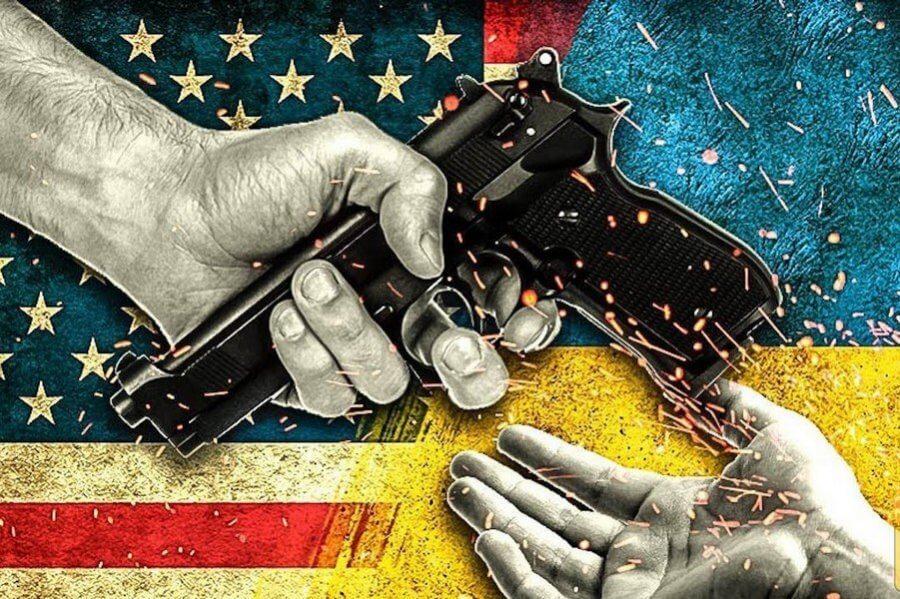 США и Украина. Фото: Соцсети