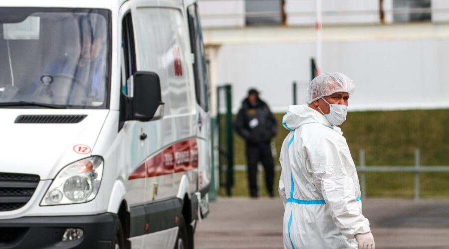 За сутки в России выявлено 8 419 новых случаев коронавируса
