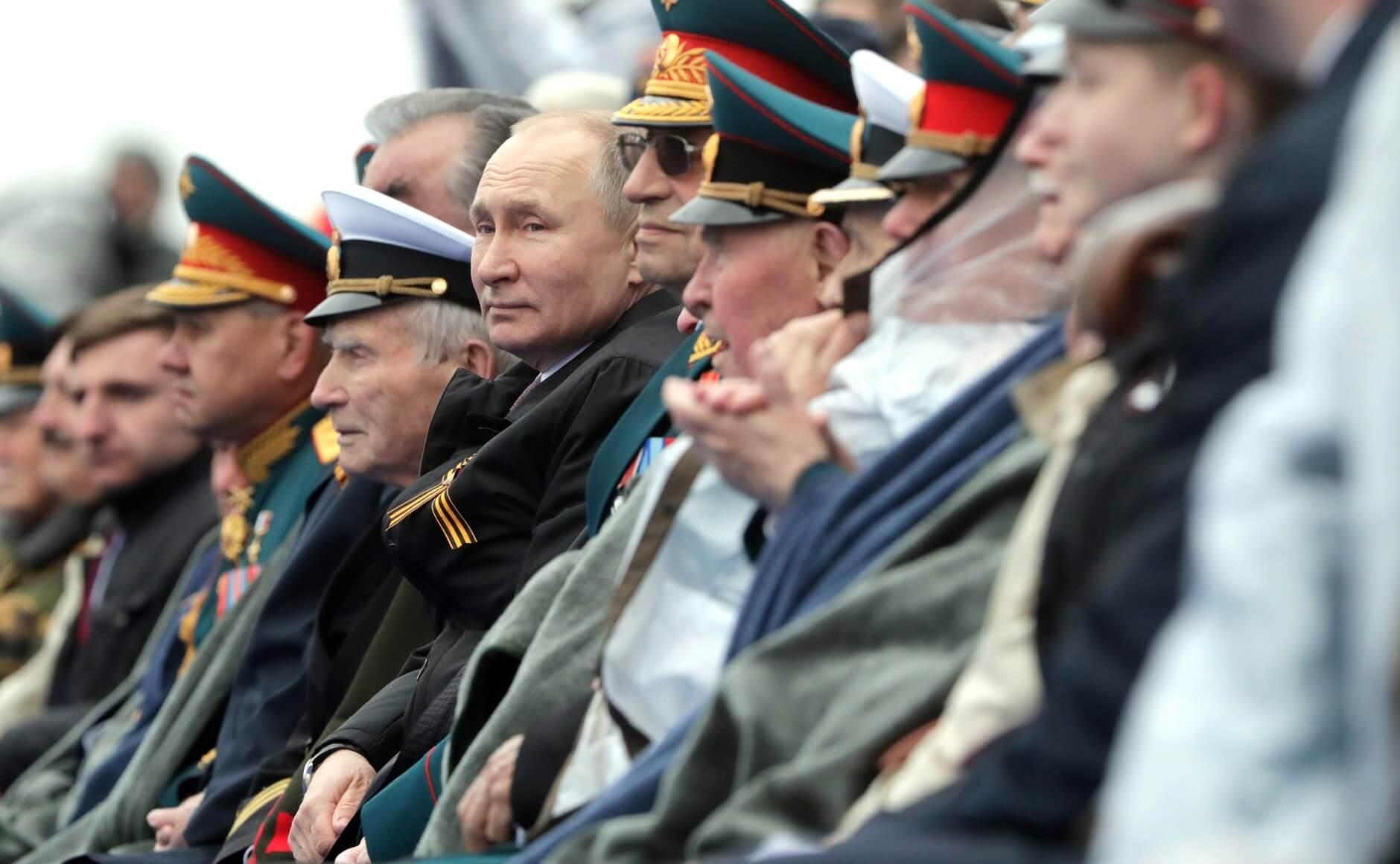 Владимир Путин на параде Победы