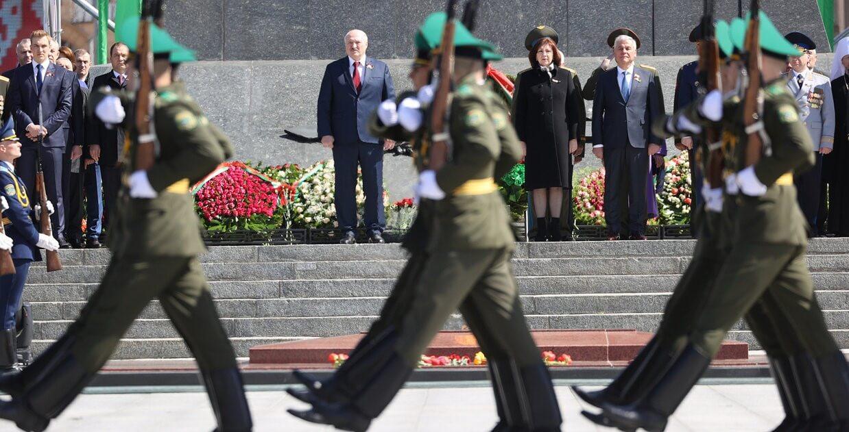 Александр Лукашенко на мероприятиях в честь Дня Победы
