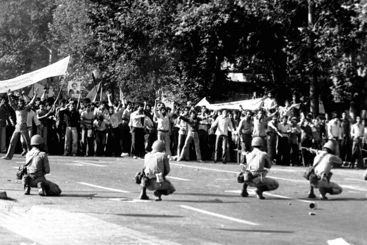 Тегеран в 1978 году