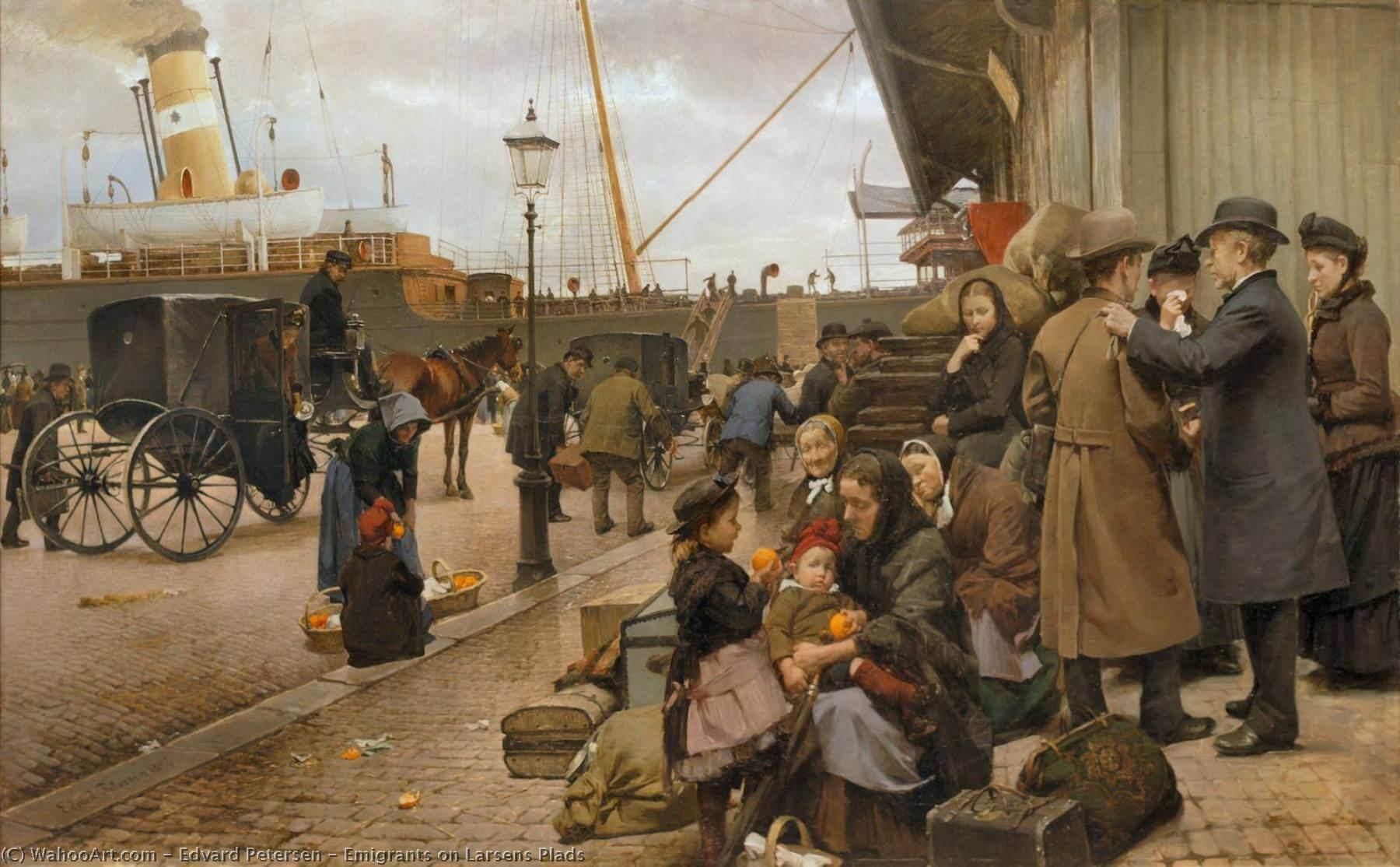 Эмигранты. 1922 год