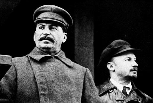 Сталин и Бухарин