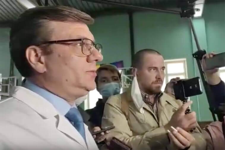 Кадр из видео «Министерства здравоохранения Омской области»
