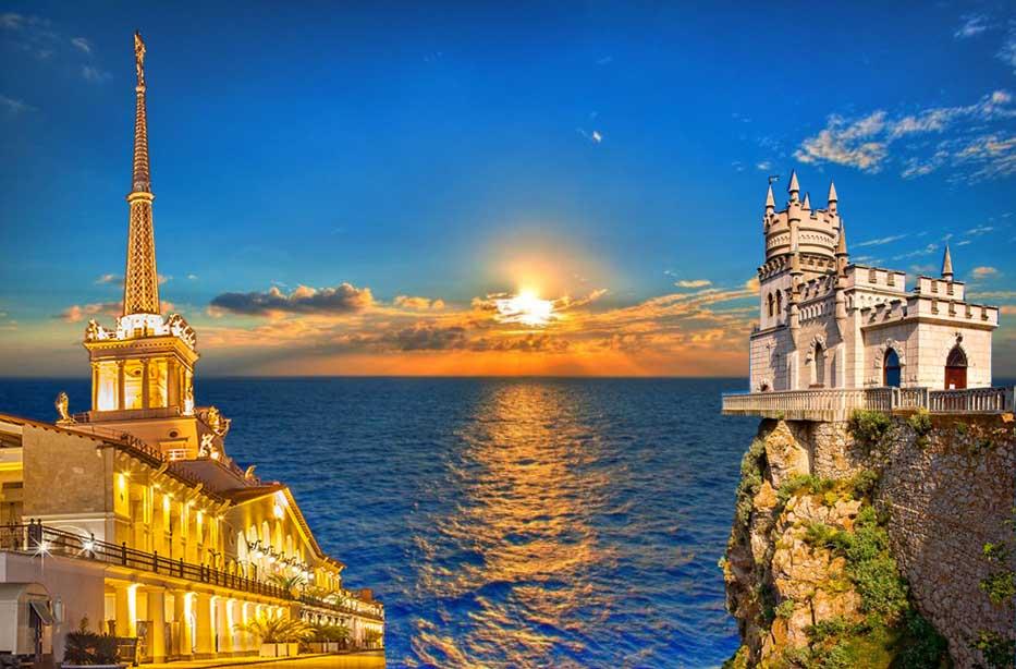 Сочи и Крым