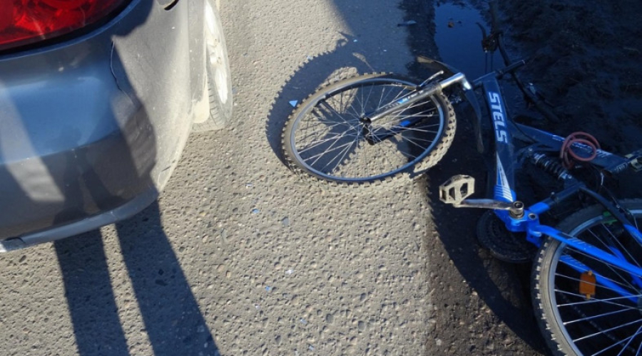 ДТП с участием машины и велосипеда