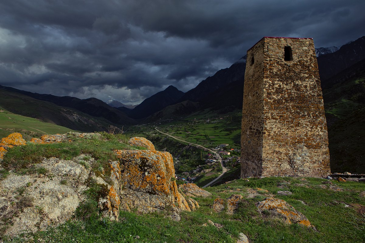 Башни древней Осетии