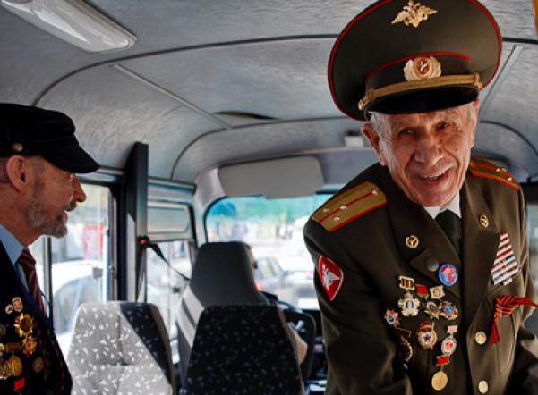 Ветеран в транспорте