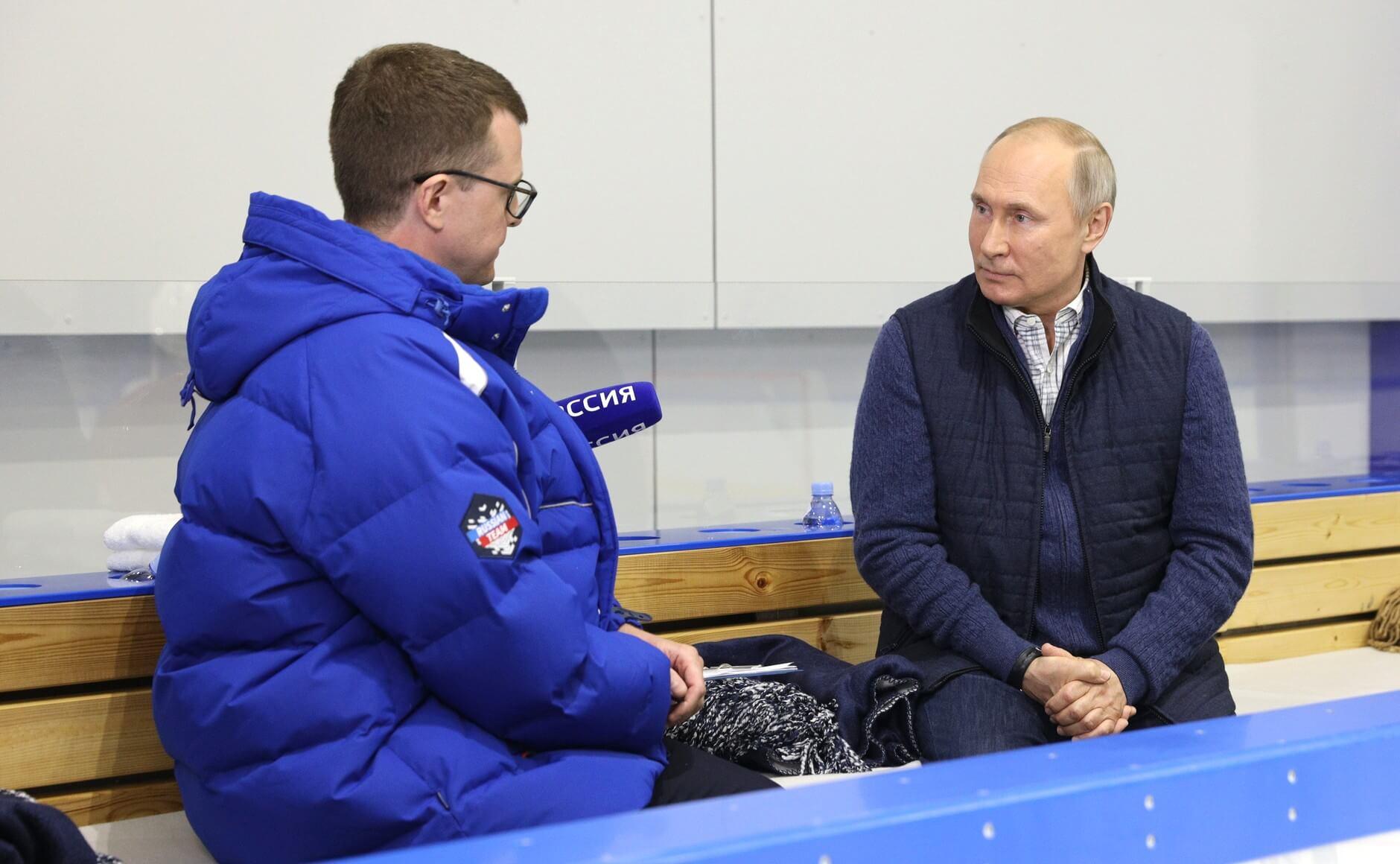Интервью Владимира Путина телеканалу «Россия 1»
