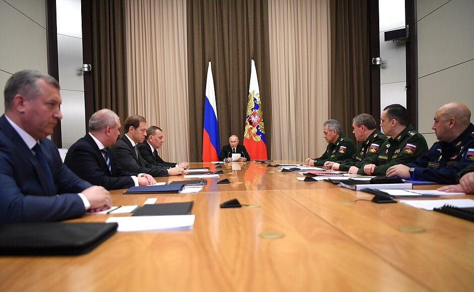 Совещание у Владимира Путина