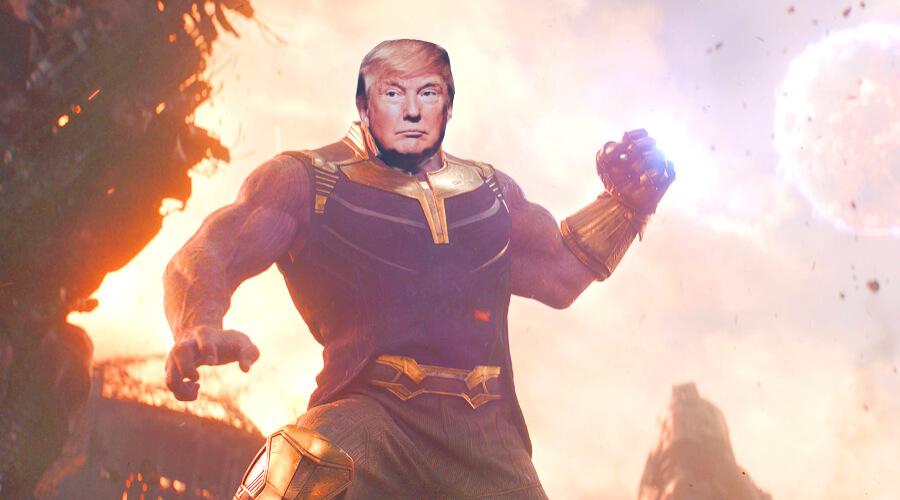 Танос Трамп