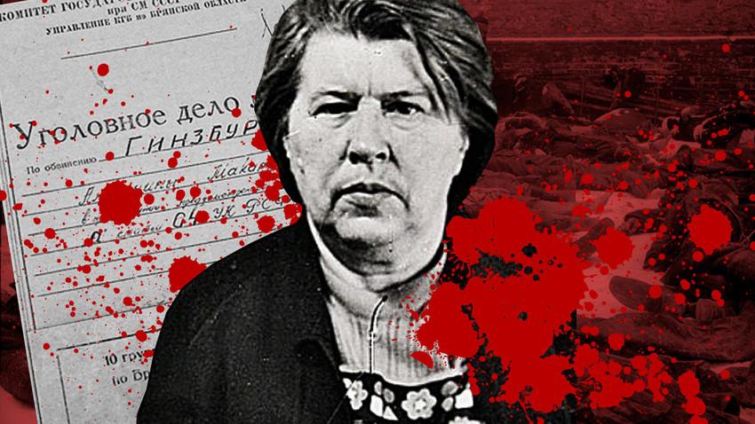 Антонина Гинзбург во время ареста, 1978 год