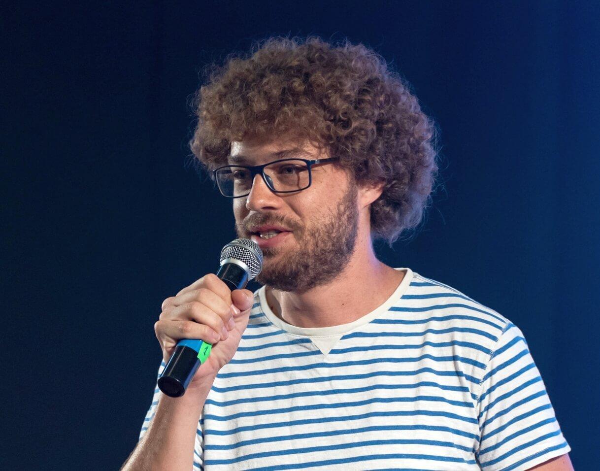 Илья Варламов 26 мая 2018 года на фестивале «Видфест» в Санкт-Петербурге