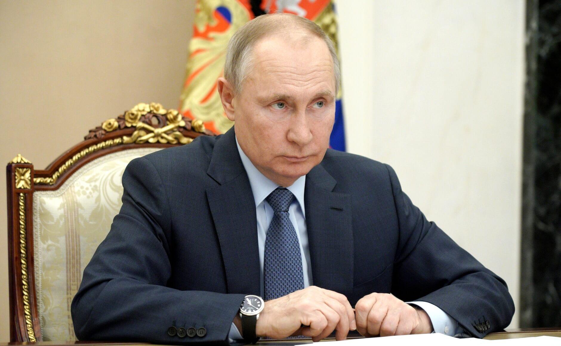 Путин о Крыме: Вынуждены были предпринять необходимые действия